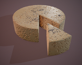 3D model Gorgonzola Cheese