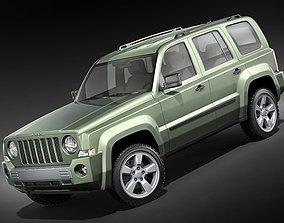 3D model Jeep Patriot - Liberty