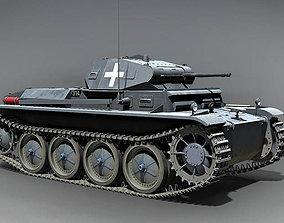 Pz Kpfw II Ausf D Germany 1938 3D model
