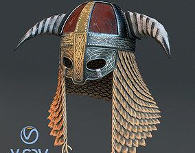 PBR Medieval helmet 3 3d model