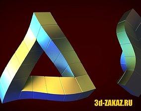 3D printable model Penrose triangle