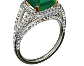 3D printable model joy ring
