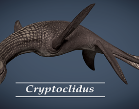 Cryptoclidus Pack 3D model animated