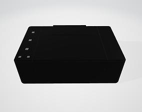 Printer Model 3D asset game-ready
