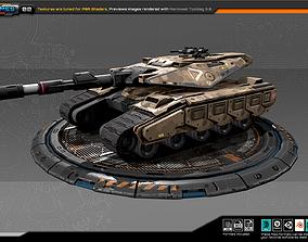RTS Medium Tank - 02 3D model