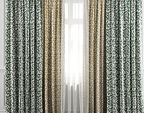 Curtain Set 40 3D