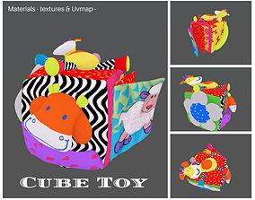 3D model Cube Toy