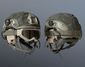 helmet Soldier Bulletproof Helmet 3D model