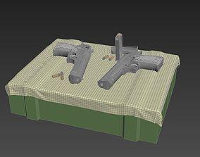 Desert Eagle pistol eagle 3D model