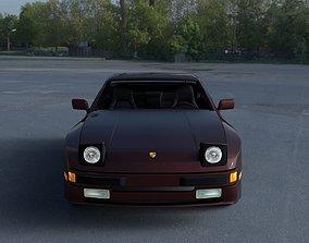 3D model Porsche 944S w Interior HDRI