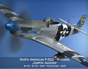 North American P-51D Mustang - Jumpin Jacques 3D