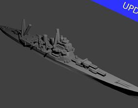 3D print model Japanese Takao Class Cruiser Warship