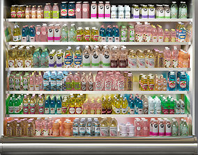 3D Grocery Store Showcase