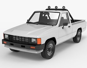 Toyota Hilux 1983-1988 Pickup 3D model