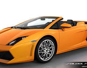 Lamborghini Gallardo Spyder LP 550 3D model