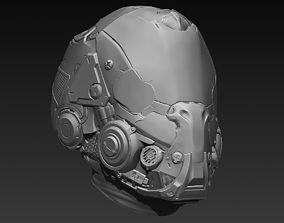 3D model Sci-Fi Head