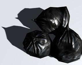 Garbage Bag 3D asset