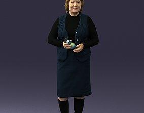 Grandmother vest sleeveless jacket 0495 3D Print Ready
