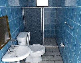3D asset Realistic Bathroom