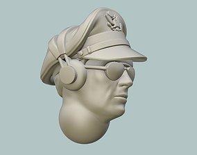 B-17 Pilot Head 3D print model
