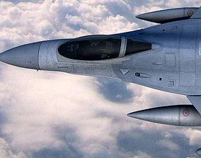 3D F16C Fighting Falcon