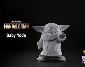 3D printable model Baby Yoda - Star Wars The Mandalorian