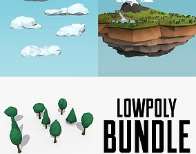 3D model Low Poly Nature