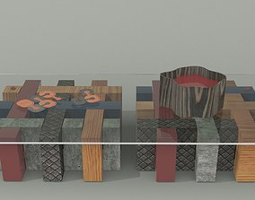 3D model Map Coffee Table