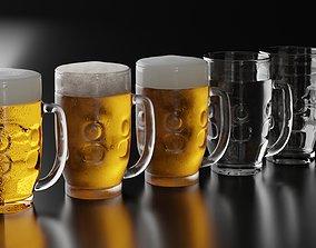 Beer Glass 10 3D