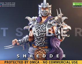 3D printable model Shredder Bust - TMNT