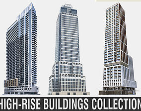 3D model High-rise Buildings Collection 02