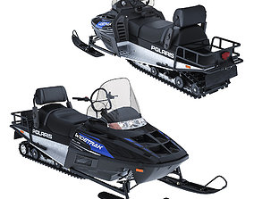 Snowmobile Polaris WIDETRAK LX 3D