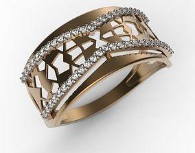 Ring MR-10 Woman Jewelery STL 3d print