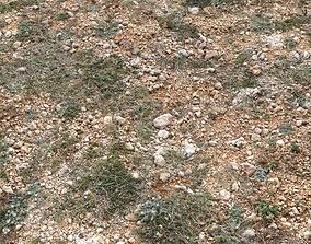 Ground terrain arid tundra PBR pack 1 3D model