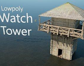 Roman Watchtower 3D model