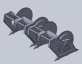 3D printable model Fishing trawler winch