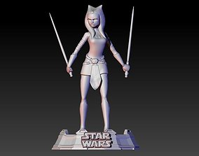 Ahsoka Tano from Clone Wars series 3D print model