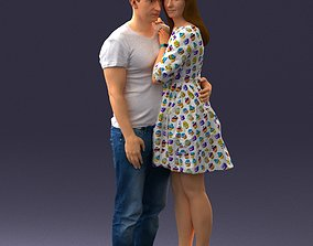 3D Casual couple 1017