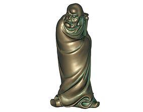 3D printable model 3D model Bodhidharma