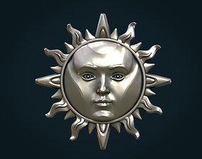 Sun Pendant II 3D printable model
