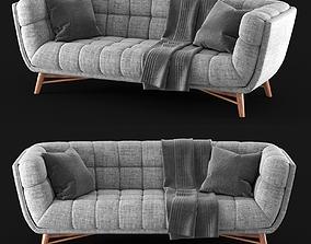 Lofton Midcentury Modern Sofa 3D