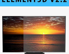 E3D - Sony X9300D TV 3D model