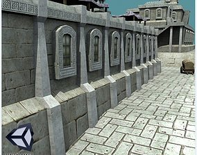 Ancient Houses Furnished 3D asset