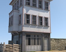 Old House 3D model low