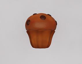 Cartoon cookie 3D model
