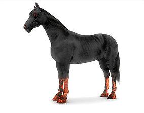 3D model Demon Horse