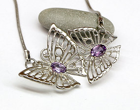 Butterflies pendant 3D model models