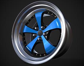 326 Power Yabaking KF Racing Spoke 3D model
