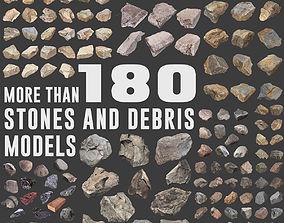 Ultimate Stones and Debris Pack 3D model