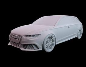 Audi RS6 2015 3D